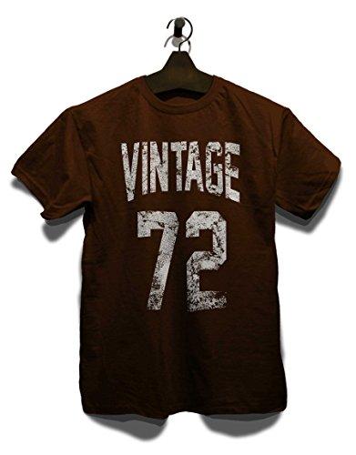 Vintage 1972 T-Shirt Braun