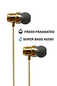 ESN 999 Fragranced & Scented Handsfree Earphones for SONY XPM(Gold/Pink/Blue/Orange)