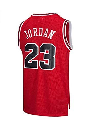 c3708b42d140a VICTOREM NBA Michael Jordan  23 Camiseta de Baloncesto para Hombres Chicago  Bulls Retro Chaleco de