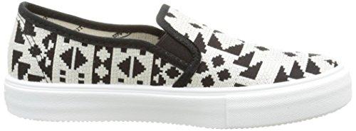 victoria Slip on Geometrico, Unisex-Erwachsene Sneakers, Schwarz - Schwarz - Noir (10 Negro) - Größe: 38