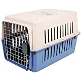 Urbancart Portable Pet Crate/Pet Carrier With Cage/Outdoor Travel Pet Kennel (Blue)(Medium)