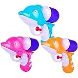 Toyvian Super Water Blaster Soaker Gun Kids Water Pistol Squirt Water Toy Fighting Summer Beach Toys