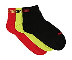 Puma Mens Cotton Ankle Socks (8903066615763_IN91079614_Yellow)