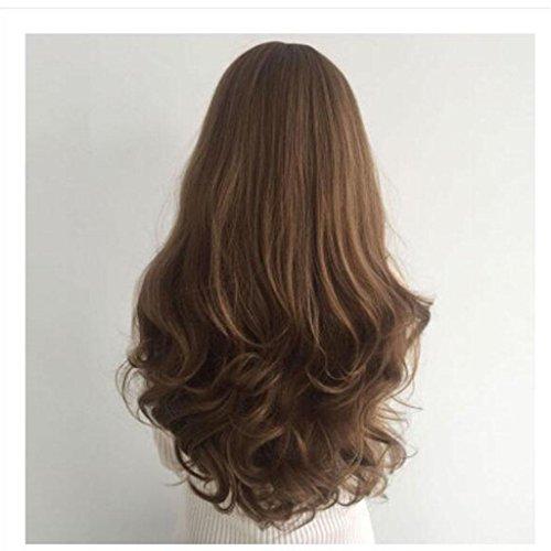 lange Haare große Welle Hochtemperatur -Draht Chemical Fiber Perücke Frisur , candy (Tanz Kostüme Modellierung)
