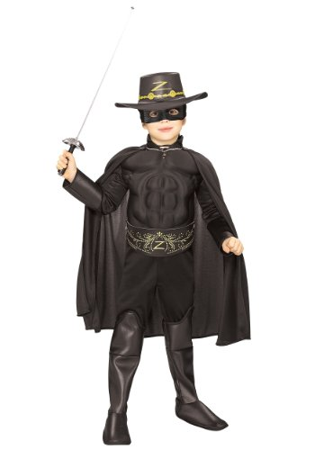 Rubie's Zorro-Kostüm Deluxe für Kind