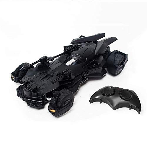 XXXVV Toy télécommande de Voiture Justice League Batman Batmobile 01h18 2.4G RC véhicule Stunt véhicule Radio Rechargeable Enfants Contrôlé électrique de Course pour Cadeaux Garçons Filles Enfants