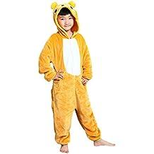 Tonwhar® infantil Onesie Pijamas Disfraces de Halloween oso Kids Kigurumi
