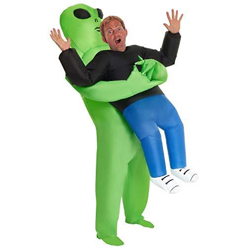 About Beauty Adult Alien Pick Me Up Aufblasbare Kostüm Aufblasbare Grim Reaper Kostüm Ghost Pick Me Up Fancy Kleid (1,62-2M Erwachsene)