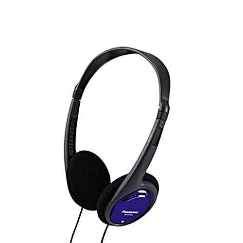 Panasonic RP-HT010E-A Kopfhörer blau (besonders leicht und angenehm zu tragen)