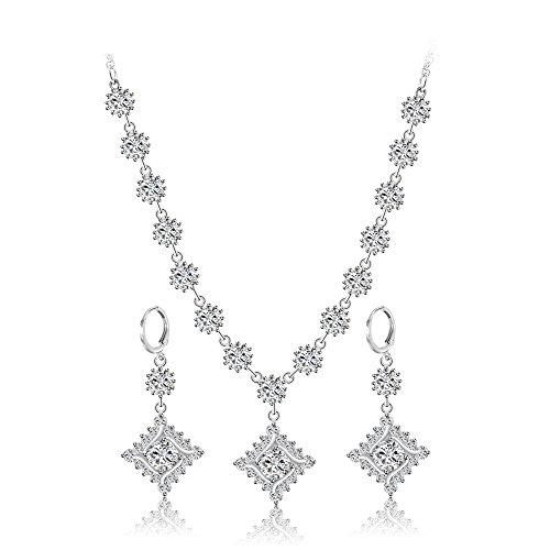 Xuping Schmuck zarte Shining Jewellery Sets 2016