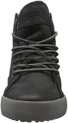 Blackstone - Mw82, Scarpe da ginnastica Donna Nero (Nero (nero))