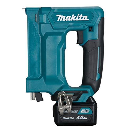 Makita ST113DSMJ Akku-Tacker 10,8 V / 4,0 Ah, 2 Akkus + Ladegerät im MAKPAC, 10.8 V