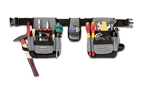 Parat Werkzeuggürtel L Parabelt, Gürteltasche für Werkzeug, mit Einsteckfächer, Material: Nylon (ohne Inhalt)