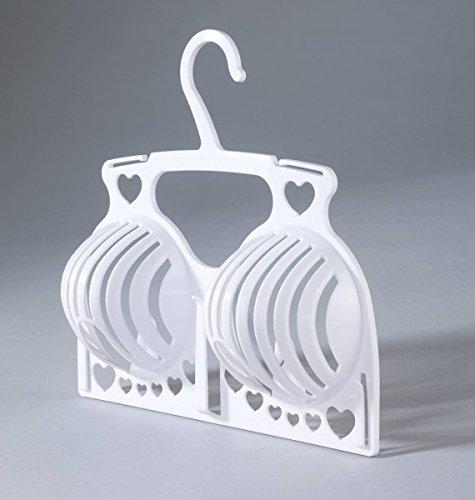 Wenko Bügel Trockner Trocknerbügel Kleiderbügel Wäschebügel Zubehör für BH Büstenhalter Push up bis Körbchengröße D (Trockner Bh)