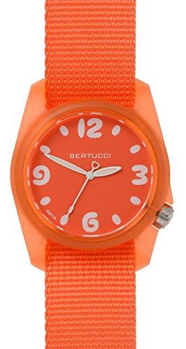Bertucci dicono le donne arancione s-Orologio sportivo, cinturino in Nylon, abbinata 11034-Orologio da uomo