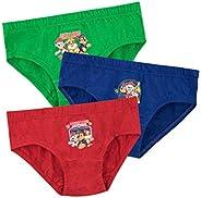 Paw Patrol Ropa Interior para niños Paquete de 3