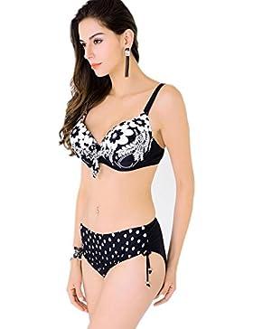 bikini Split due serie di sign
