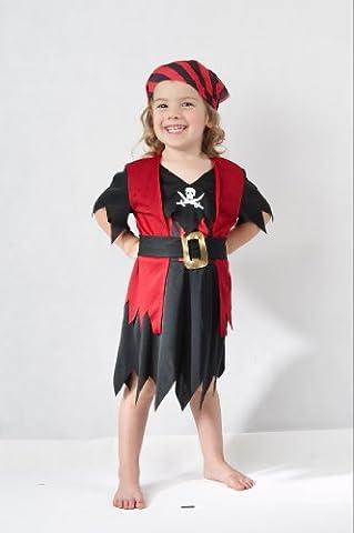 Costume Pirate Toddler - Fille de pirate - enfants Costume de