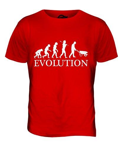 CandyMix Landschaftsarchitektur Landschaftsgärtner Evolution Des Menschen Herren T Shirt Rot