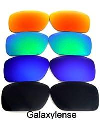 Galaxy Verres De Rechange Pour Oakley Turbine noir   bleu   vert   rouge  polarisé 4 43a2d471d9aa
