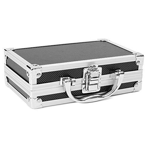 WE-WIN Aluminium Werkzeugkoffer Klein with Foam Blocks Size 180 * 110 * 55mm
