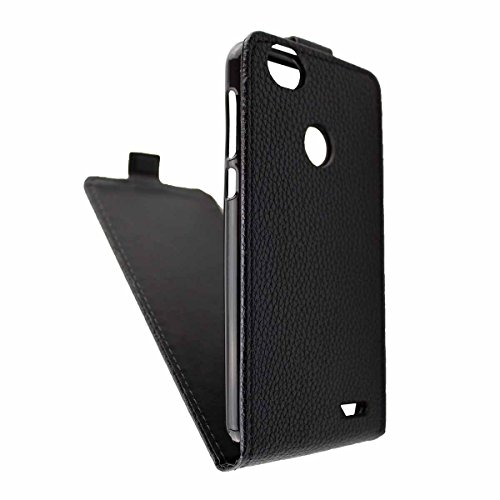 caseroxx Hülle/Tasche Flip Cover passend für Medion Life E5008 MD 60746, Schutzhülle (Handytasche klappbar in schwarz)