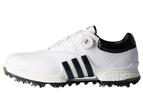 adidas Herren Tour 360 Boa 2.0 Golfschuhe, Weiß (White F3373133), 44 2/3 EU