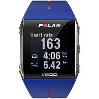 Polar V800 Cardiofrequenzimetro senza Sensore di Frequenza Cardiaca, Blu, Taglia (Max Carico Di Lavoro)