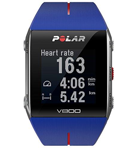 Preisvergleich Produktbild POLAR Trainingcomputer V800, Blue Red, 90048945