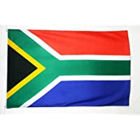 BANDERA de SUDÁFRICA 90x60cm - BANDERA SUDAFRICANA 60 x 90 cm - AZ FLAG