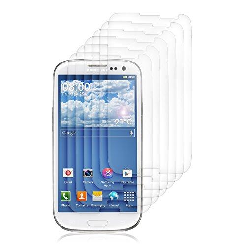 kwmobile 6X Folie für Samsung Galaxy S3 / S3 Neo - klare Bildschirmschutzfolie Bildschirmschutz Crystal Clear kristallklar Bildschirmfolie Schutzfolie