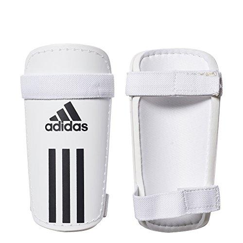 adidas Field Lite Espinilleras, Unisex Adulto, Blanco (Blanco / Negro), XS