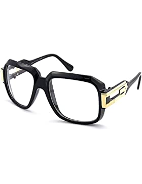 Gafas neutral BESO® - la VIEJA ESCUELA mod. RÁFAGA - marco, con una vista de HIP-HOP hombre mujer VINTAGE