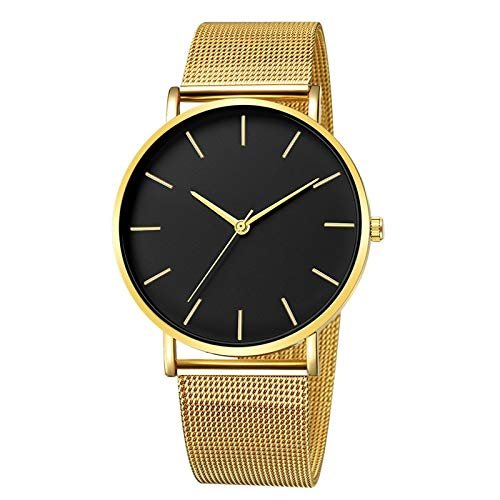 Macxy - Masculino Herrenuhren Top-Marke Luxus ultradünne Armbanduhr-Mann-Uhr Herren-Uhr-Taktgeber erkek kol saati reloj Hombre [C]