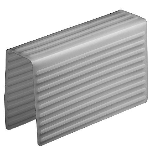 iDesign 64183EU Lineo Waschbeckenablage Satteltasche, grau