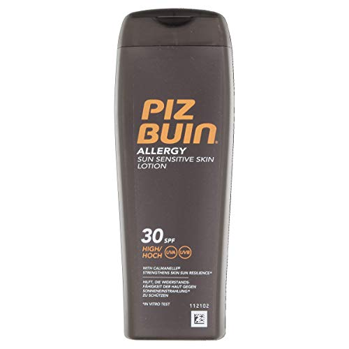 Piz Buin Allergy, Sun Sesitive Skin Lotion, SPF 30, Unisex, 200 ml