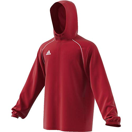 Adidas Core18 RN Jkt Chaqueta Deportiva, Hombre, Rojo Power Red/White, XL