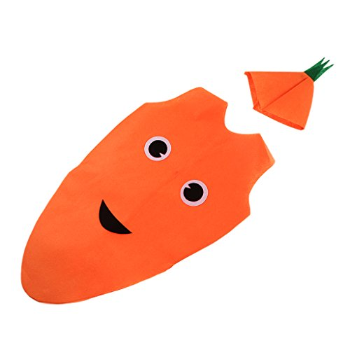 Eine Karotte Kostüm - Homyl Scherzt Kinder Kostüm -