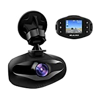 Mini Dash Cam, MILALOKO 1080P Full HD Car Dashboard Camera Video Recorder built in Sony Sensor, 650NM Lens, WDR, Loop Recording, Motion Detection, Park ing Monitor and G-Sensor