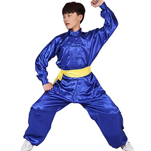 Tenthree Kampfsport Leistung Kleidung - Erwachsene Kinder Sets Jungen Mädchen Chinesisch Traditionell Kostüme Frauen Shaolin Kung Fu Tai Chi Männer Training Kleidung