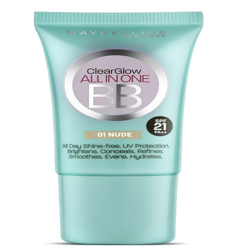 Maybelline New York BB Cream, Nude, 18ml