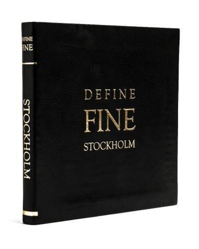 Define Fine City Guide Stockholm por Veronika Blomgren