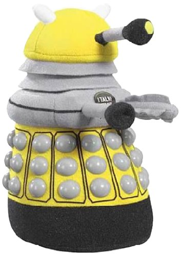 Doctor Who Talking Dalek Plush (Medium, Yellow)