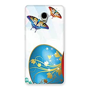 Cute Animated Butterflies Print Back Case Cover for Lenovo Vibe P1