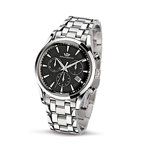Philip Watch Men's Watch, Sunray Collection, Stainless Steel Watch - R8273908165