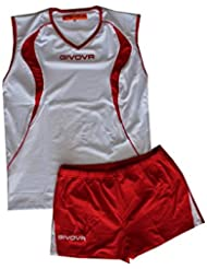Givova kit vuelo volley rojo/blanco, talla 3XL