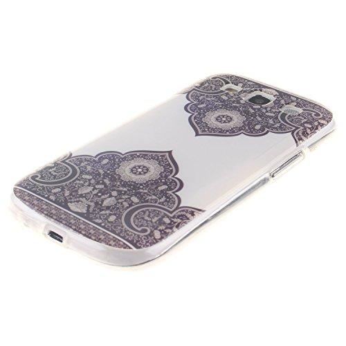 Aeeque iPhone 5S/SE/6/6S (Plus), Samsung galassia S3/S4/S5/S6/S6 bordo/S7/S7 bordo/A3/A5/(2016)/J1/J5/G360/G530, Sony Xperia Z3/M4, Huawei P8 Lite copertura dellalloggiamento sacchetto della copertur Lace Blume