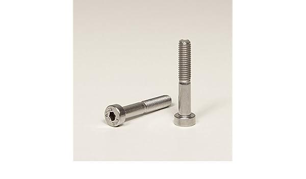 Zylinderkopf Schrauben rostfrei | Zylinderschrauben 10 St/ück DERING Zylinderschrauben M8x18 mit Innensechskant DIN 912 Edelstahl A2