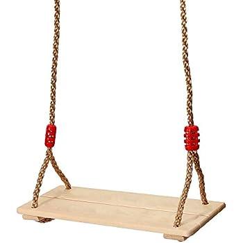 king do way si ge de balan oire bois pour enfants adultes ext rieur int rieur swing seat. Black Bedroom Furniture Sets. Home Design Ideas