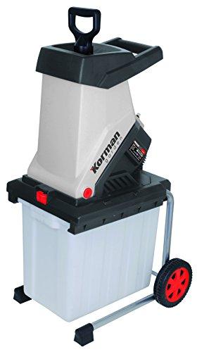 Korman Garden 500333 - Biotrituradora eléctrica (2500 W, 40 mm)